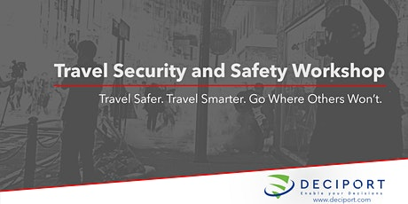 The Travel Security and Safety Workshop - Afternoon Session tickets