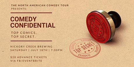 Comedy Confidential at Hickory Creek Brewing Co. tickets