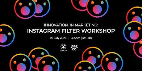 Innovation in Marketing: Instagram Filter Workshop Tickets