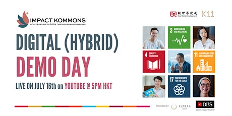 Impact Kommons Hybrid Demo Day tickets