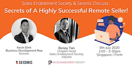 SES ASEAN Presents: Secrets of A Highly Successful Remote Seller! tickets