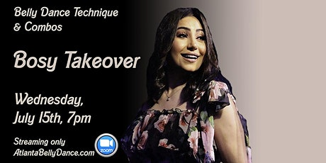 """Belly Dance Technique & Combos """"Bosy Takeover"""" tickets"""