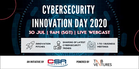 Cybersecurity Innovation Day 2020 [Live Webcast] tickets