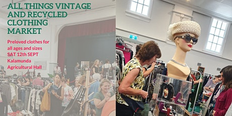 All Things Vintage and Recycled Clothing market 2020 tickets