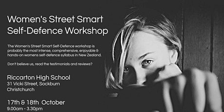 Women's Street Smart Self-Defence Workshop - Christchurch tickets