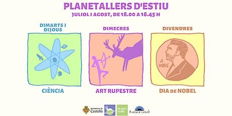 """Taller """"Divendres de Nobel: Alfred Nobel"""" al Planetari entradas"""