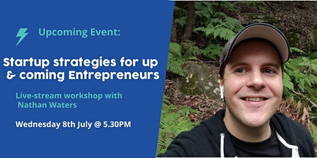 Startup strategies for up and coming Entrepreneurs tickets