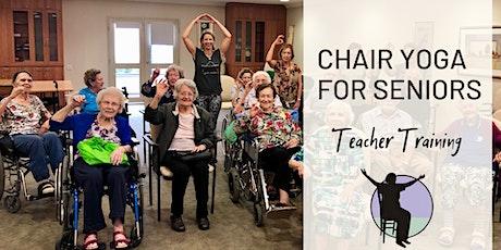 Chair Yoga for Seniors Teacher Training tickets