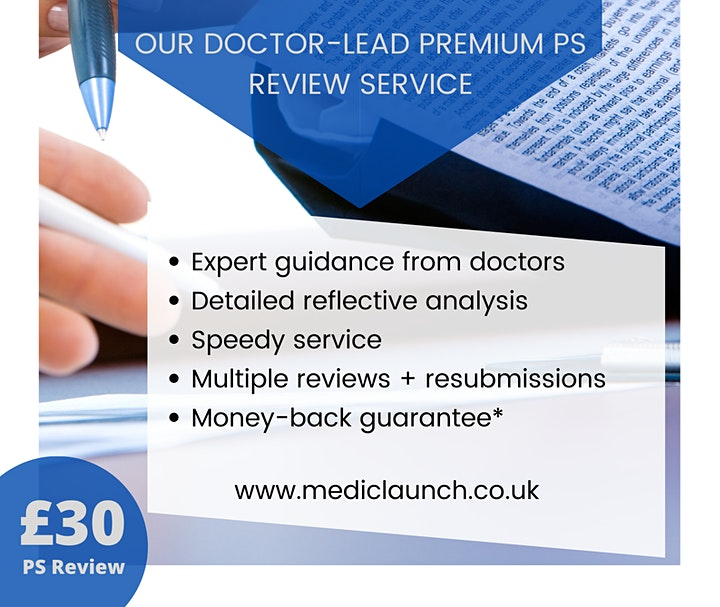 Personal Statement Review Service - Medic Launch image