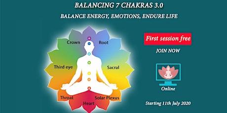 7 Chakra Balancing tickets