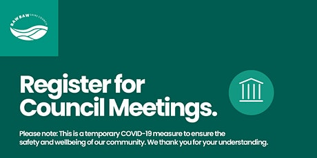 Baw Baw Shire Council Meetings tickets