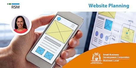 Website Planning (Geraldton) tickets