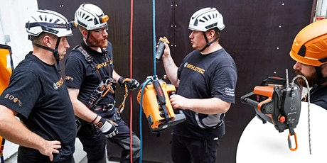 Test drive Skylotec's revolutionary powered rope ascender tickets
