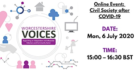 Worcestershire Voices - Civil Society after COVID-19 tickets