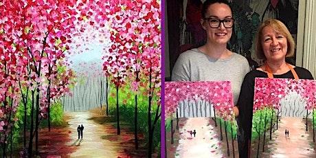 Cherry Blossom - Sip & Paint Class (BYO Studio) tickets