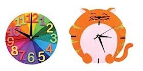 Wooden Clock Activity Pack tickets