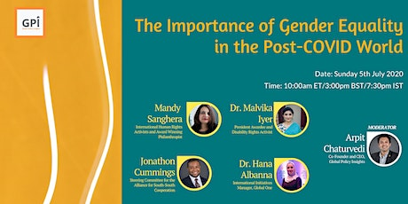 The Importance of Gender Equality in the Post-COVID World tickets