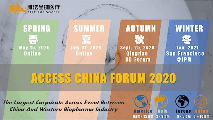 ACCESS CHINA Forum @JPM WEEK 2021 image