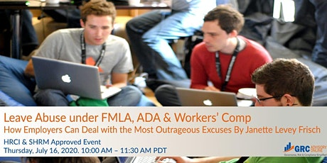 Leave Abuse under FMLA, ADA and Workers' Comp tickets