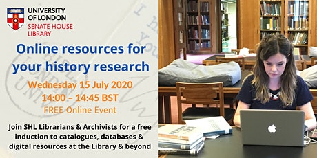 How to find online resources for your history research tickets
