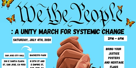 San Jose PROTEST Unity March for Systemic Change tickets