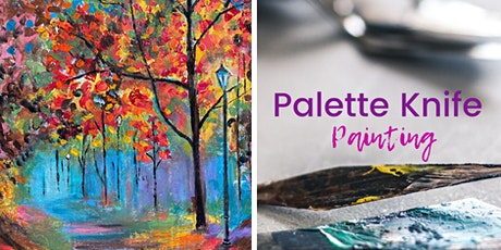 BYO Sip & Paint Class: Autumn Leaves (Palette Knife) tickets