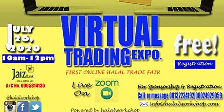 Halalworkchop Virtual Trading Expo (Halal Online Trade Fair) tickets