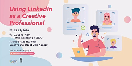 Using LinkedIn as a Creative Professional tickets
