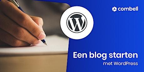 Hoe start je met een eigen blog tickets