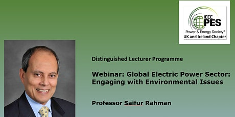 Webinar: Global Electric Power Sector: Engaging with Environmental Issues tickets