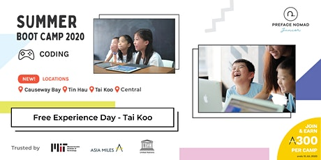 2020 Summer Coding Camp Experience Day | Tai Koo | Preface Nomad Junior tickets