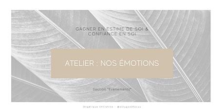 Atelier : Nos émotions billets