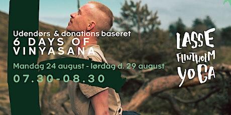 6 days of Vinyasana  /// Kongens Have tickets