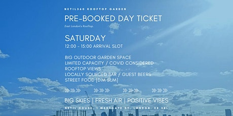 Saturday [12:00 - 15:00 Arrival Slot] tickets