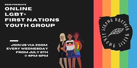 Online LGBT+ First Nations Youth Group tickets