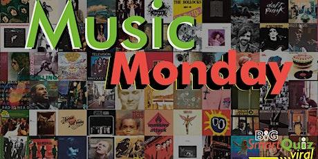 Music Monday Live Online Quiz tickets