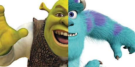 Pixar Vs Dreamworks Live Online Quiz tickets