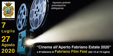 Rassegna Cinema all'aperto Fabriano Estate 2020 tickets