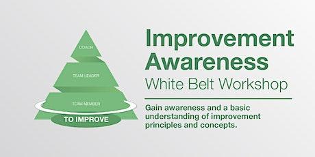 Lean Awareness White Belt (1A) Programme - 14 & 15 September 2020 tickets