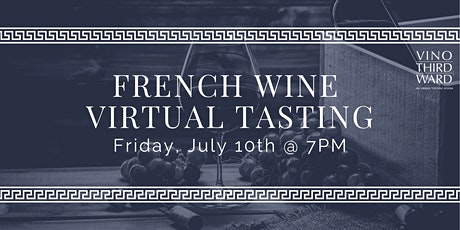 French Wine Virtual Tasting with Master Sommelier tickets