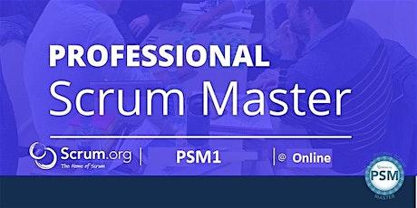 Formation Devenir chef de projet agile certifié Scrum Master PSM1 tickets