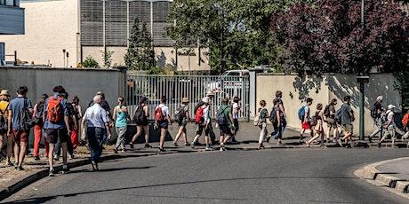 Les ateliers piétons du Grand Paris. 7e jour de marche. billets