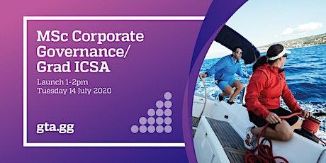 Launch - MSc Corporate Governance / Graduate ICSA tickets