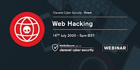 Website Hacking - Webinar tickets