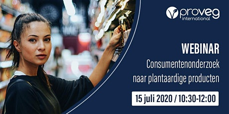 Consumentenonderzoek naar plantaardige producten (NL) entradas