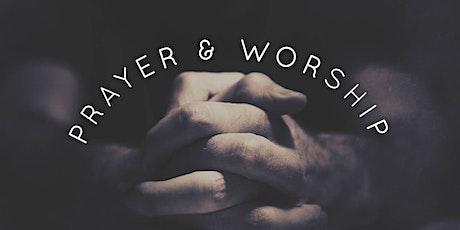 Turnos de Oração e Adoração - DOMINGO bilhetes
