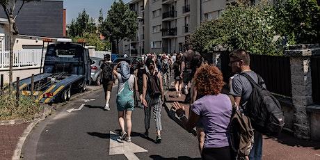 Les ateliers piétons du Grand Paris. 8e jour de marche. billets