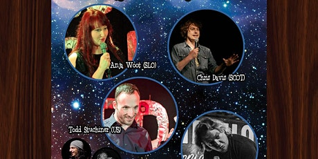 Cosmic Comedy Club with Free Vegetarian & Vegan Pizza tickets