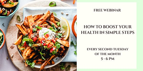 How To Boost Your Health In Simple Steps tickets