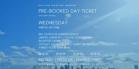 Wednesday [Arrive anytime] tickets